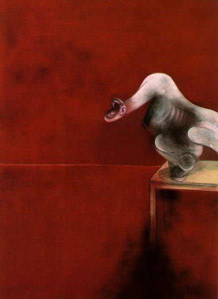 Second version of triptych (1944), Francis Bacon